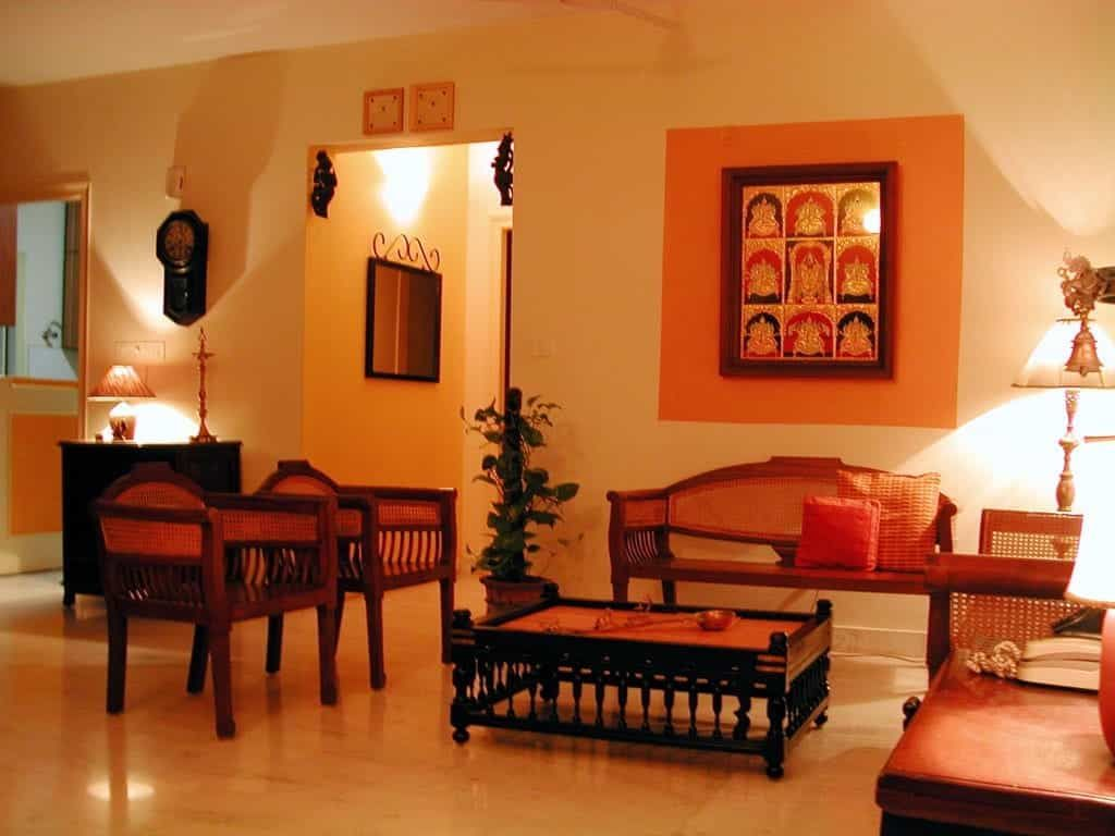 TRADITIONAL INDIAN LIVING ROOM FURNITURE
