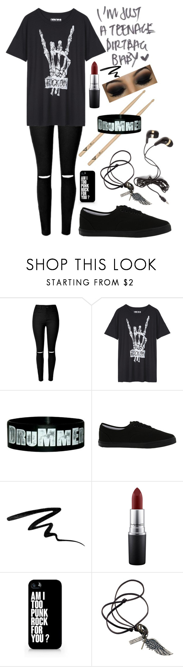 """""""Untitled #189"""" by choice-to-be ❤ liked on Polyvore featuring Vans, Eyeko, MAC Cosmetics, Samsung and Forever 21"""