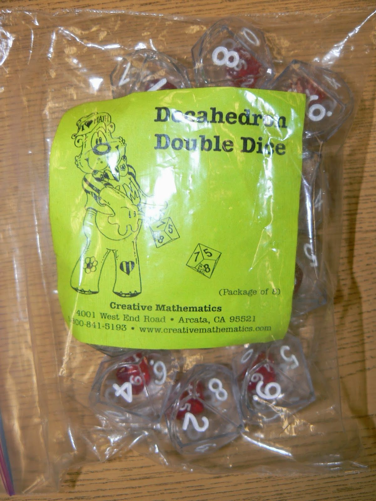 We Used Decahedron Double Dice To Practice Part Part Whole