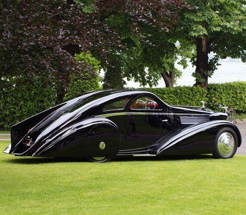 1925 Rolls Royce Phantom I Jonckheere Aerodynamic (Round Door ...