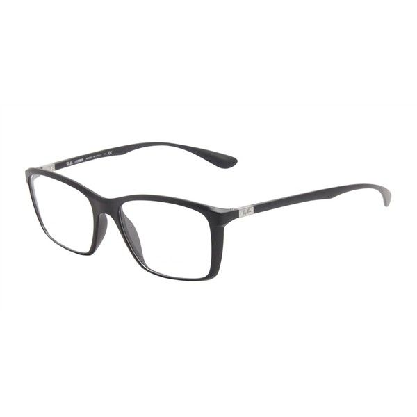 79f478fef64 Ray-Ban Unisex RB7036 Black EyeGlasses ( 80) ❤ liked on Polyvore featuring  accessories