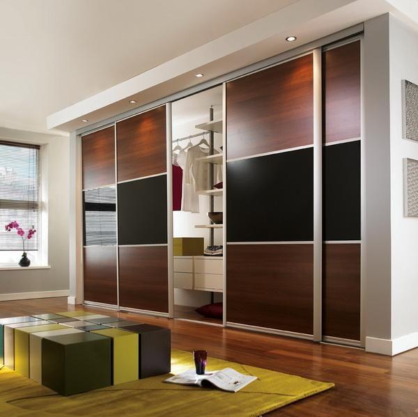 Cheap Bedroom Design Ideas Sliding Door Wardrobes: Luxury Wardrobe Sliding Mirror Doors