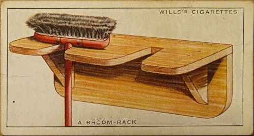 Wills' Cigarette Cards No 3: A Broom Rack