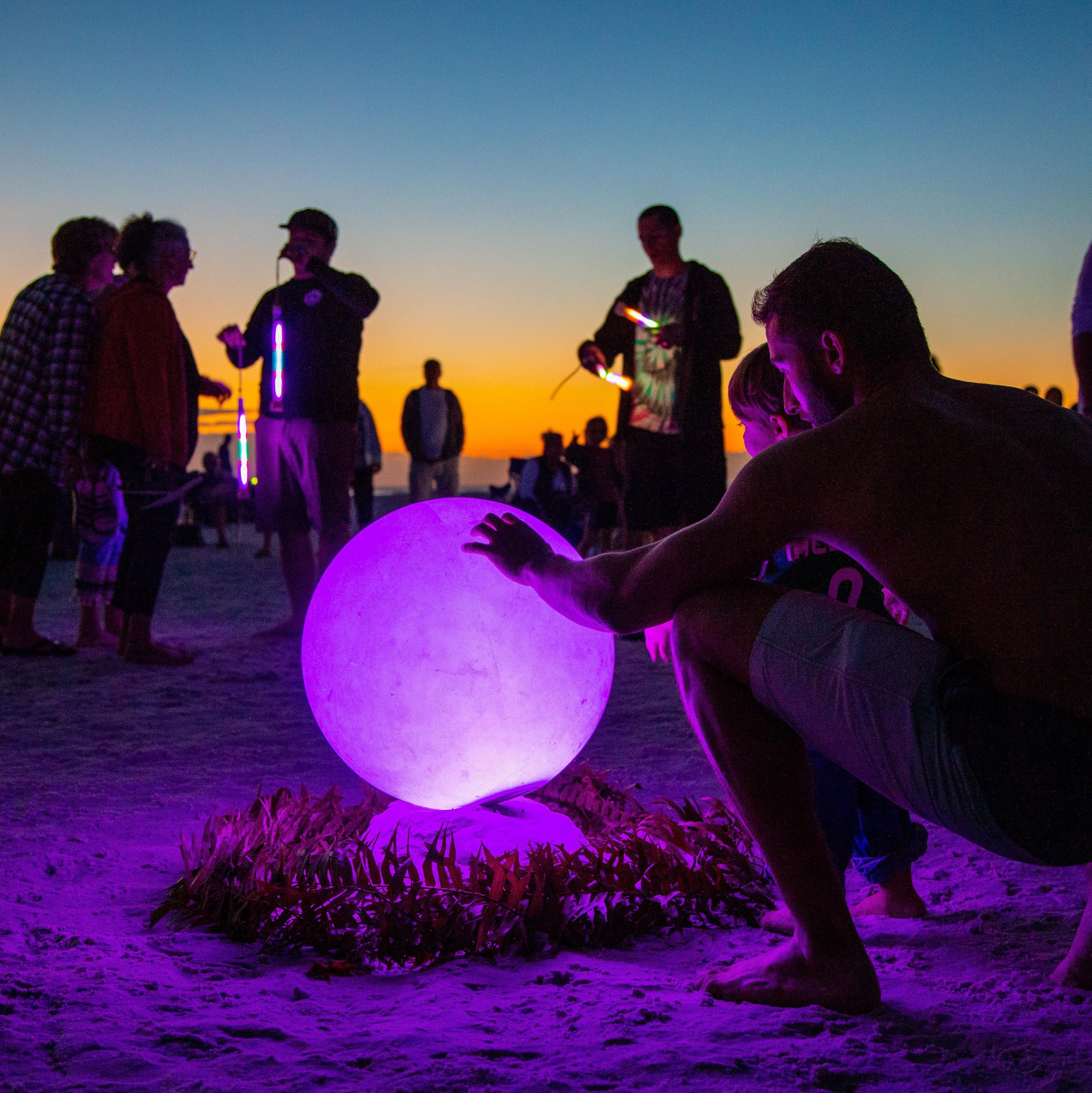 Enter a vibrant new world with siesta key drum circle