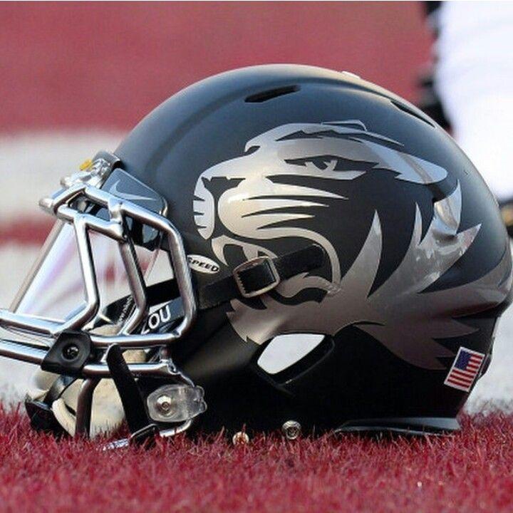 Missouri black helmets 2013 helmet football uniforms