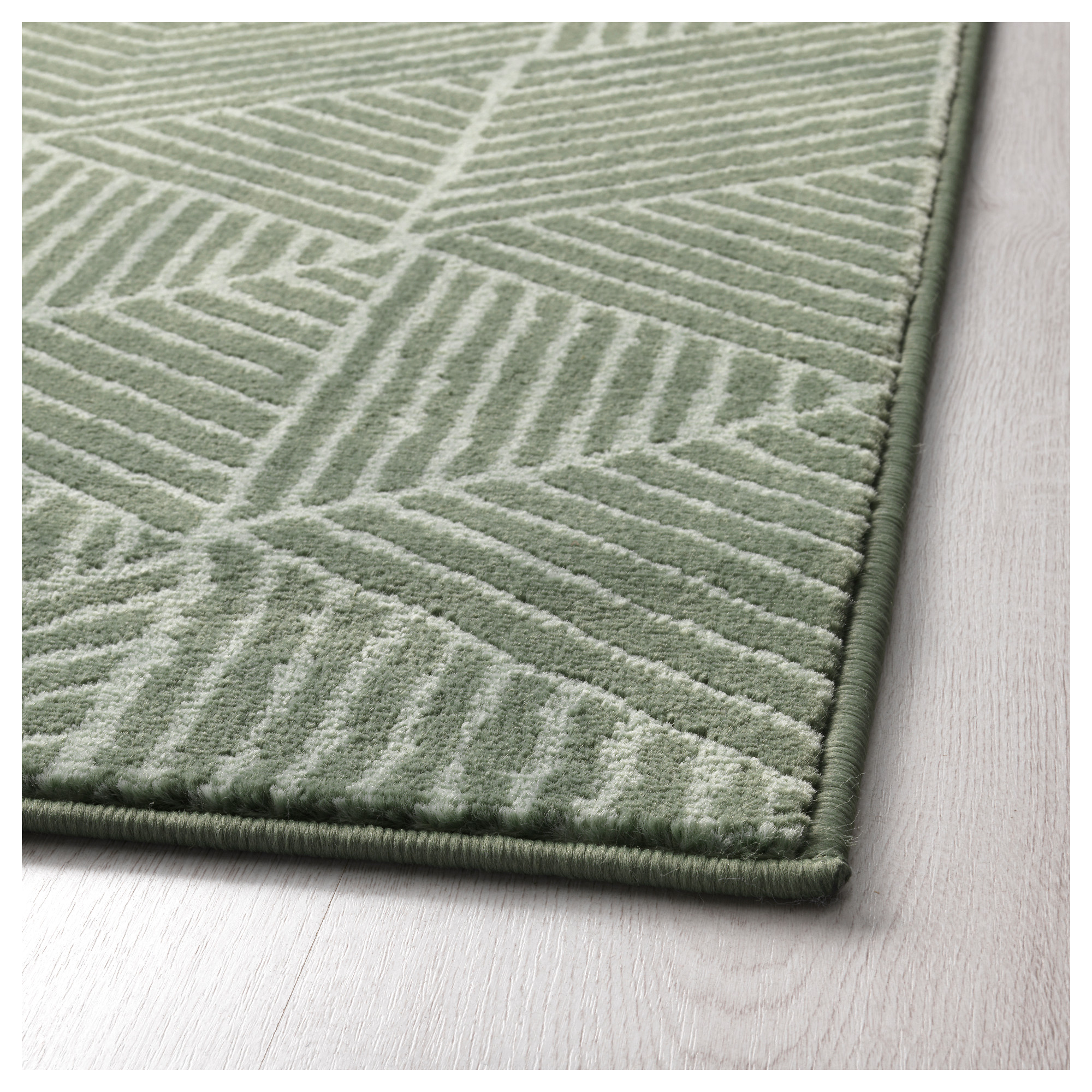 Poco Teppich Florida Stenlille Rug Low Pile Green Ikea Nursery Rugs Ikea Bedroom