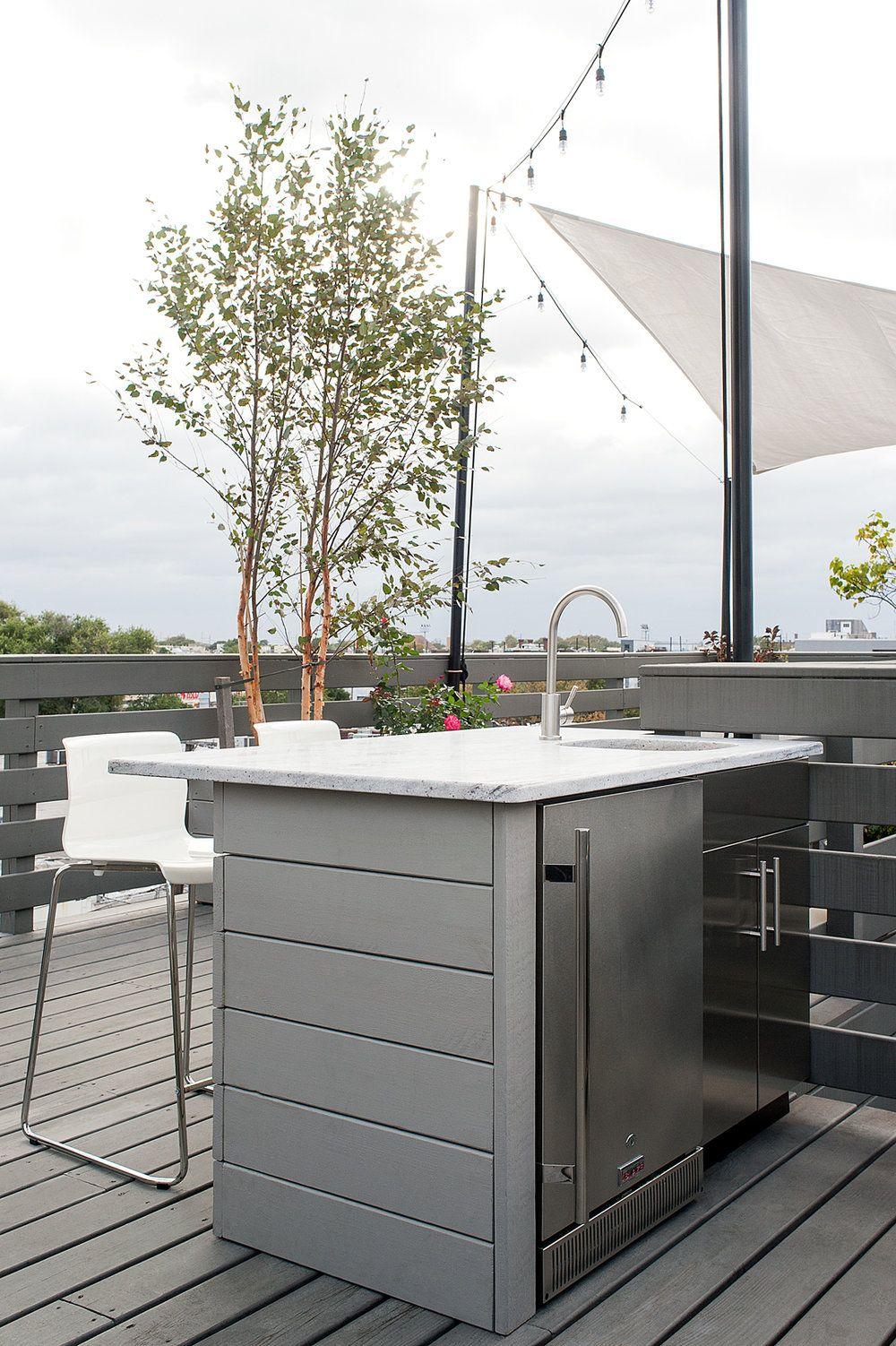Philadelphia Outdoor Refrigerator Outdoor Refrigerator Roof Deck Roof
