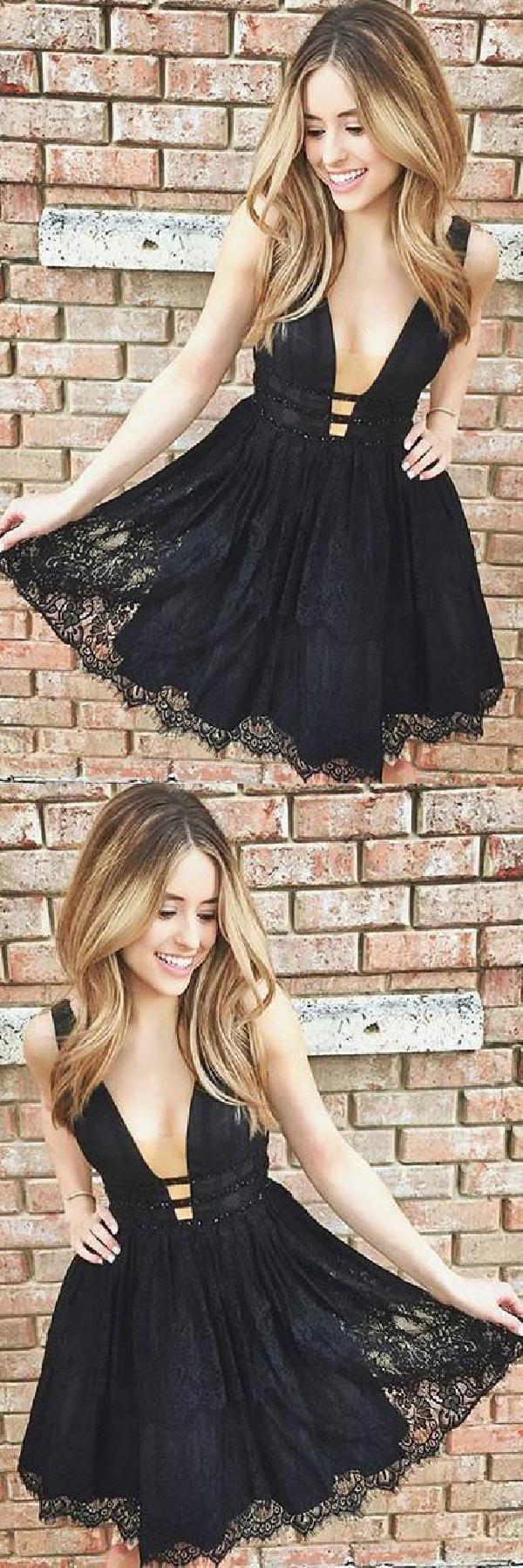 Homecoming dress lace homecomingdresslace homecoming dress black