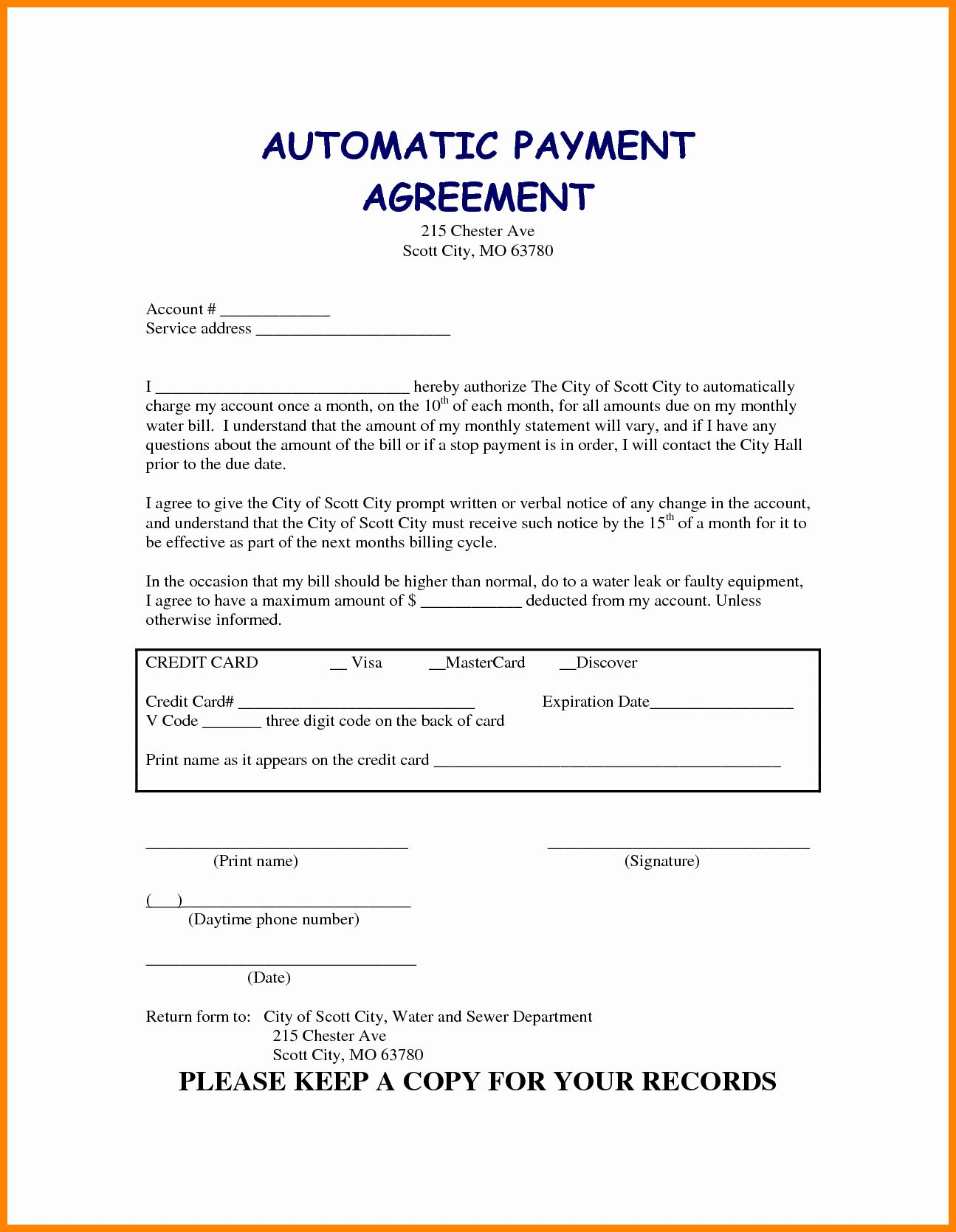 Car Payment Contract Template Beautiful 5 Take Over Car