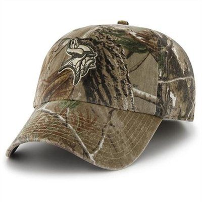 size 40 3e735 acd6b  47 Brand Minnesota Vikings Realtree Franchise Slouch Fitted Hat