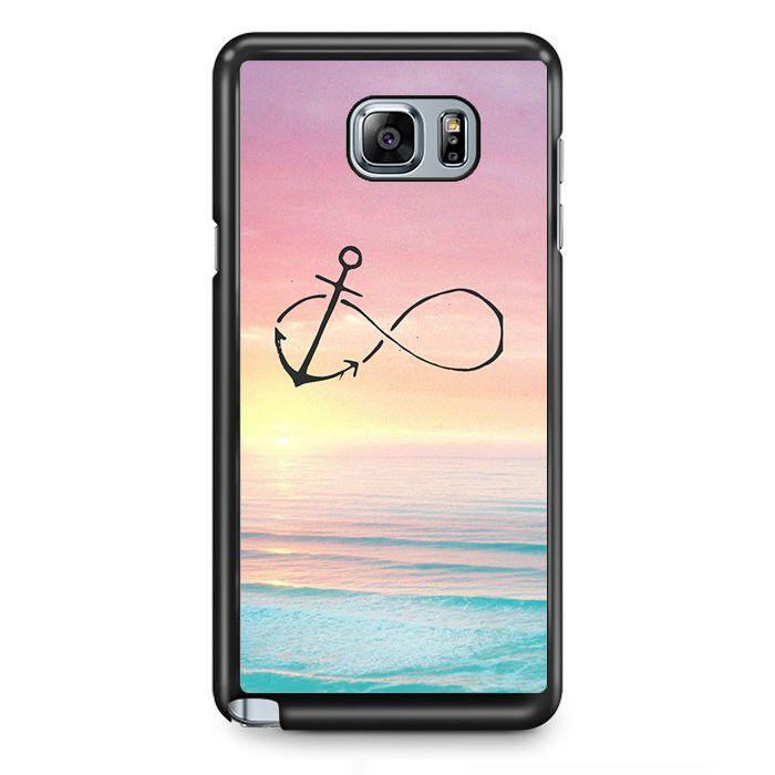 Infinity Anchor TATUM-5595 Samsung Phonecase Cover Samsung Galaxy Note 2 Note 3 Note 4 Note 5 Note Edge