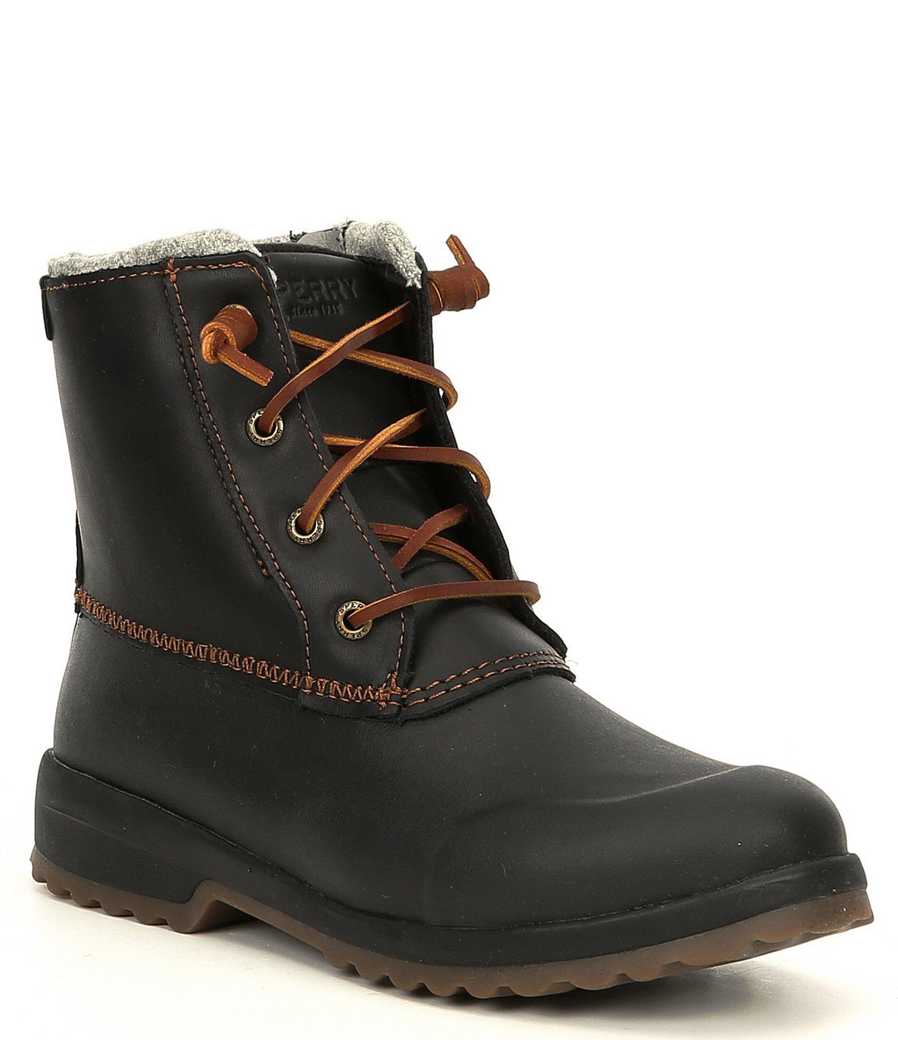 Sperry Women's Maritime Repel Waterproof Winter Boots Grey