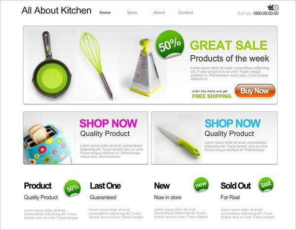 30 Free Online Shopping Cart Website Templates Free Download With Css Free Website Templates Web Design Templates