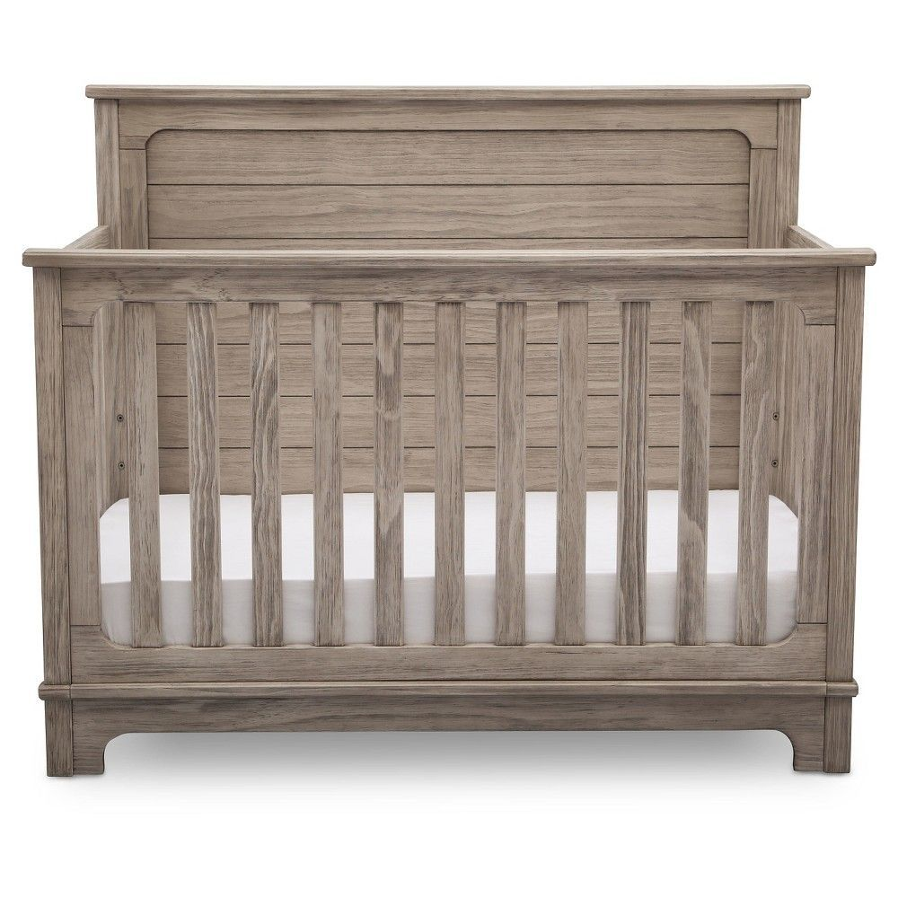 Jameson panel crib for sale - Simmons Kids Slumbertime Monterey 4 In 1 Convertible Crib Rustic White