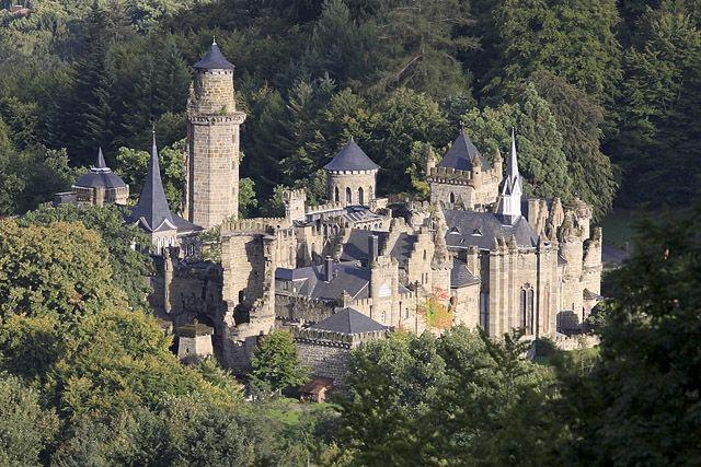 Lowenburg Bergpark Wilhelmshohe Cassel Kassel Hesse Hessen Allemagne Deutschland Sites Photog Allemagne Photographie Chateau De Neuschwanstein