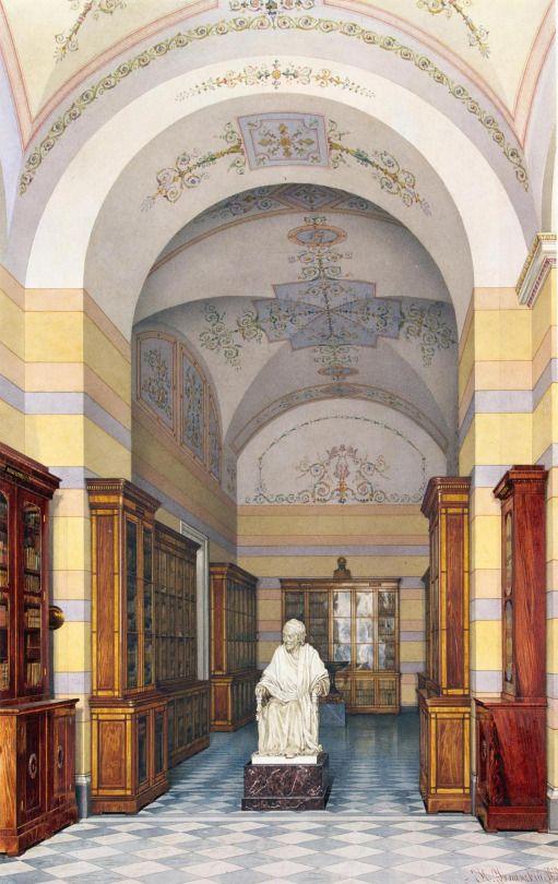 Biblioteca Voltaire en el Hermitage