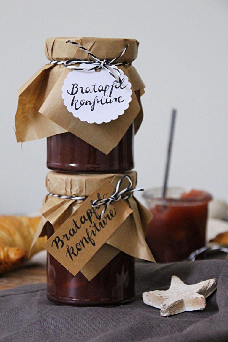 Die beste Bratapfelmarmelade für Weihnachten selbermachen inkl. Rezept