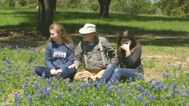 Attempting to take a bluebonnet pic
