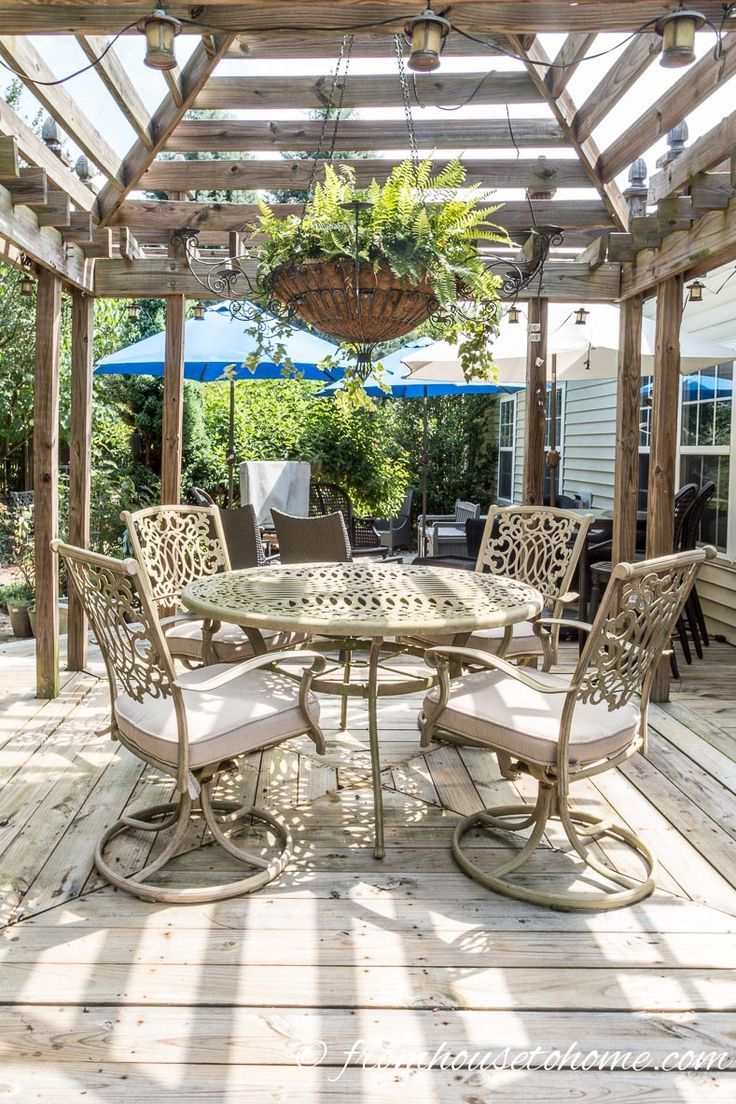 Outdoor Dining Room | How To Make A Cozy Outdoor Living Space | If You Want  Some Ideas For Making A Zen Outdoor Living Space, These Easy Tips Will Help  You ...