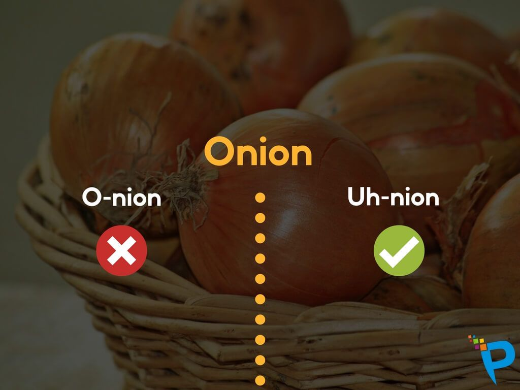 Commonly Mispronounced Food Related Words