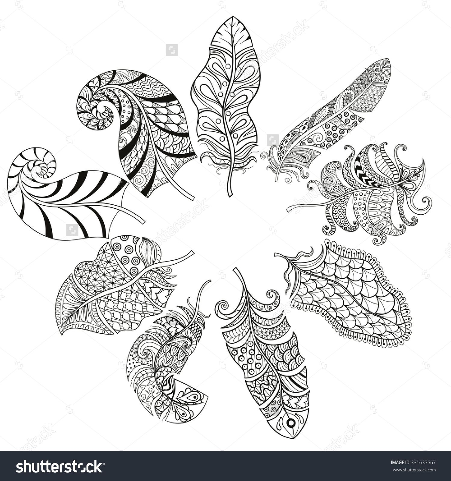 coloringpagesoffeathers010 1500×1600