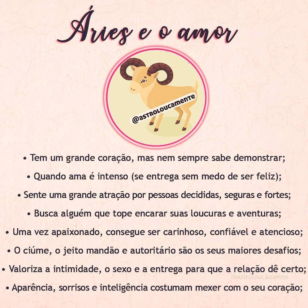 Aries E O Amor Beijos Da Maria Talisma Amariatalisma