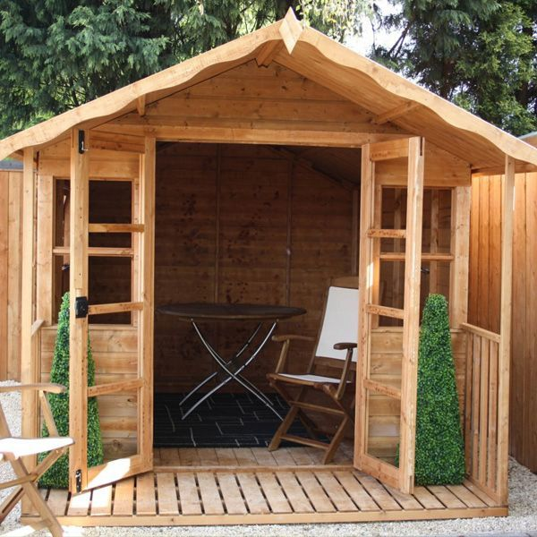 Garden Sheds With Veranda avon 8' x 10' stratford summer house with veranda http://www.sheds