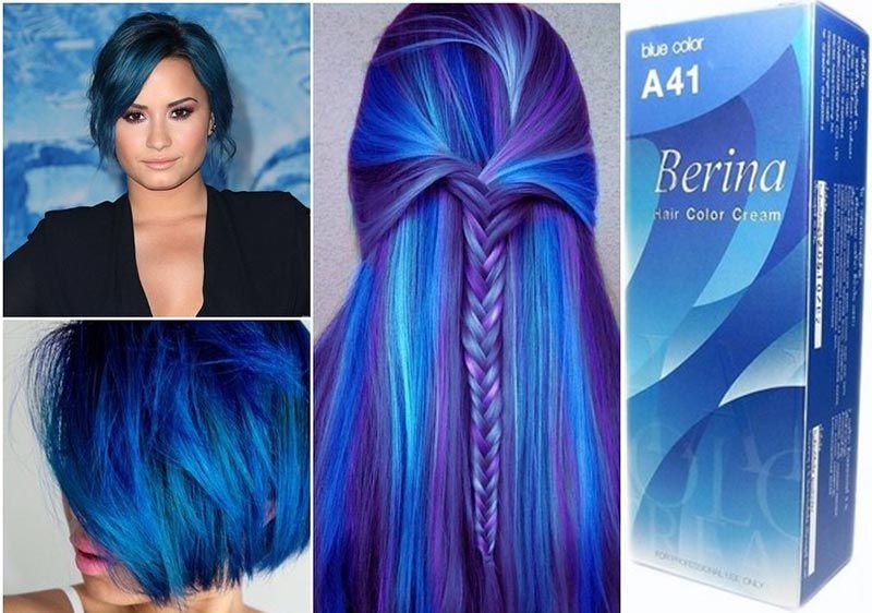 permanent blue hair dye exist