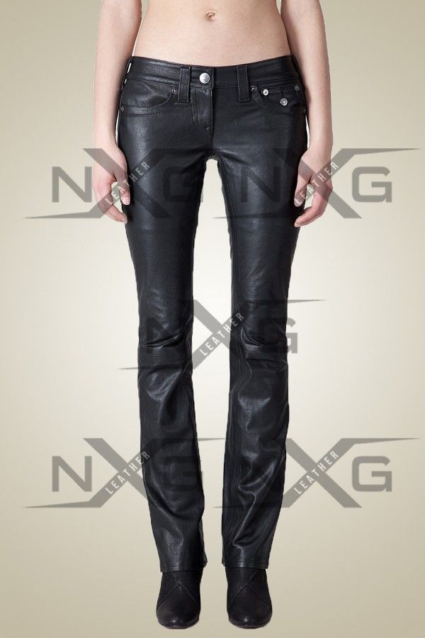 Leather Pants | Elaine Leather Pant | Womens Leather Pants | Low ...