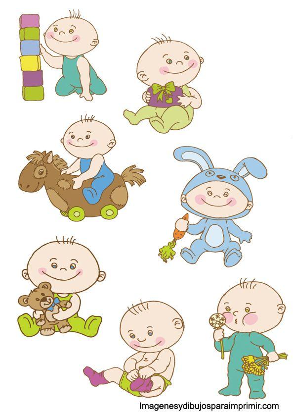 dibujo de bebe baby shower para imprimir-Imagenes y dibujos para ...