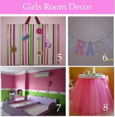 Cute Girls Room Decor Several Diy Winkchic Infowinkchic Info