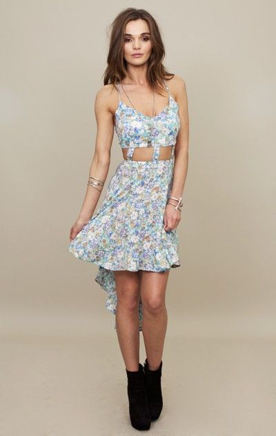 reverse long cut out dress...I WOULD DIE FOR THIS DRESS