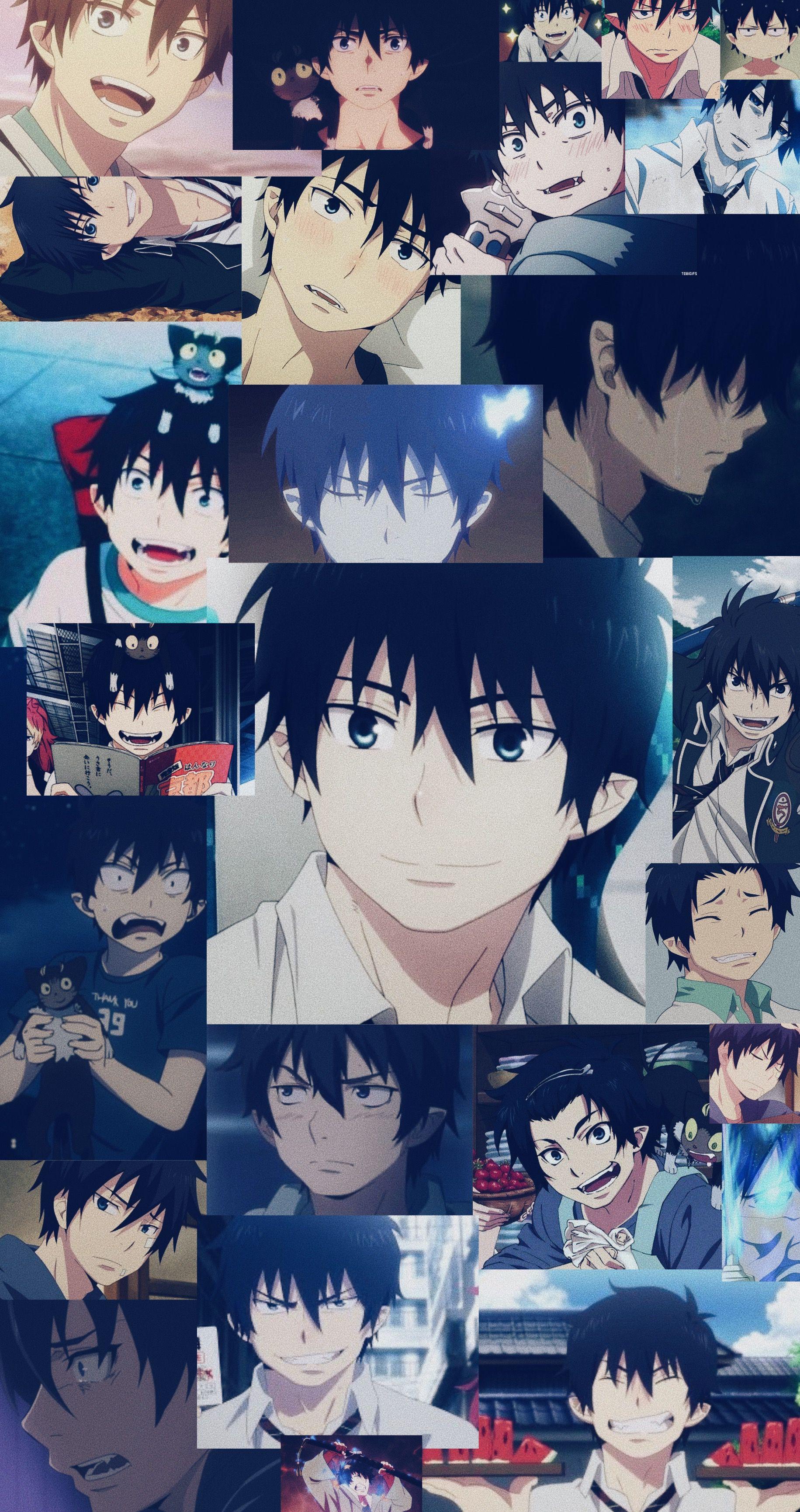 Okumura Rin Blue Exorcist Rin Blue Exorcist Anime Exorcist Anime