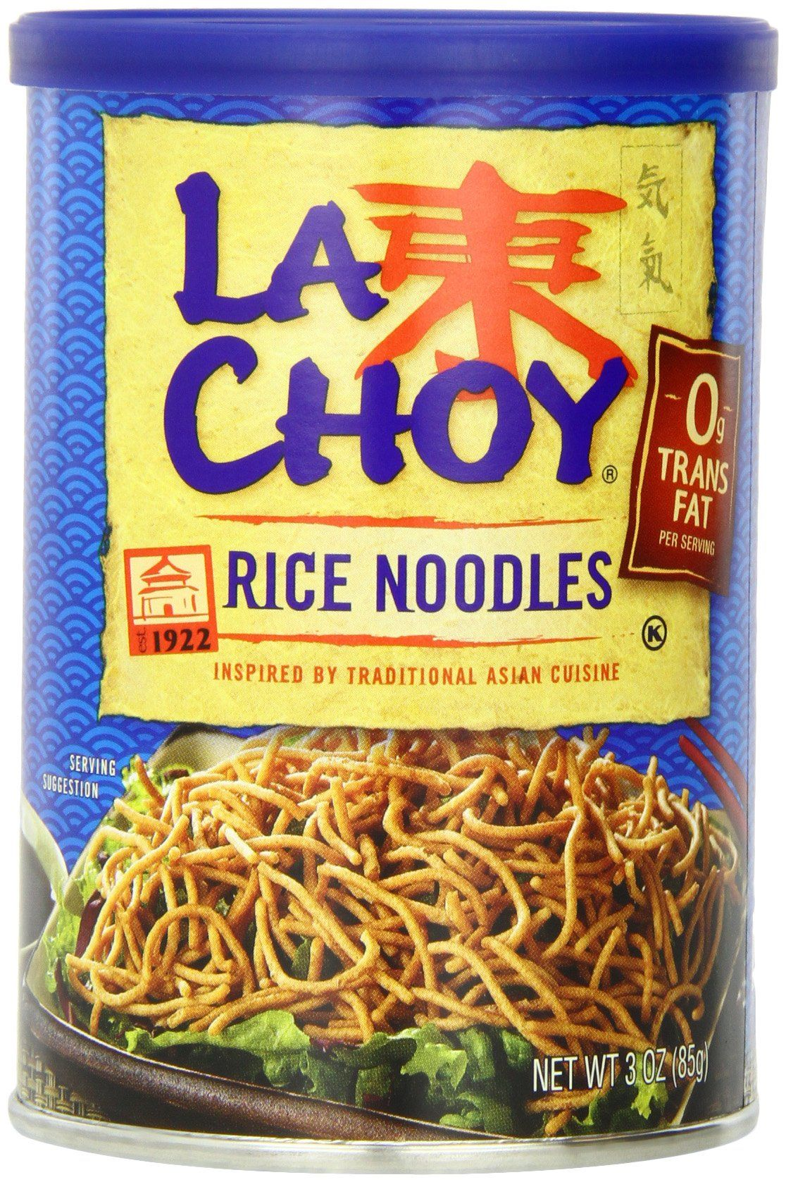 la choy rice noodles 3ounce canisters pack of 12  to view