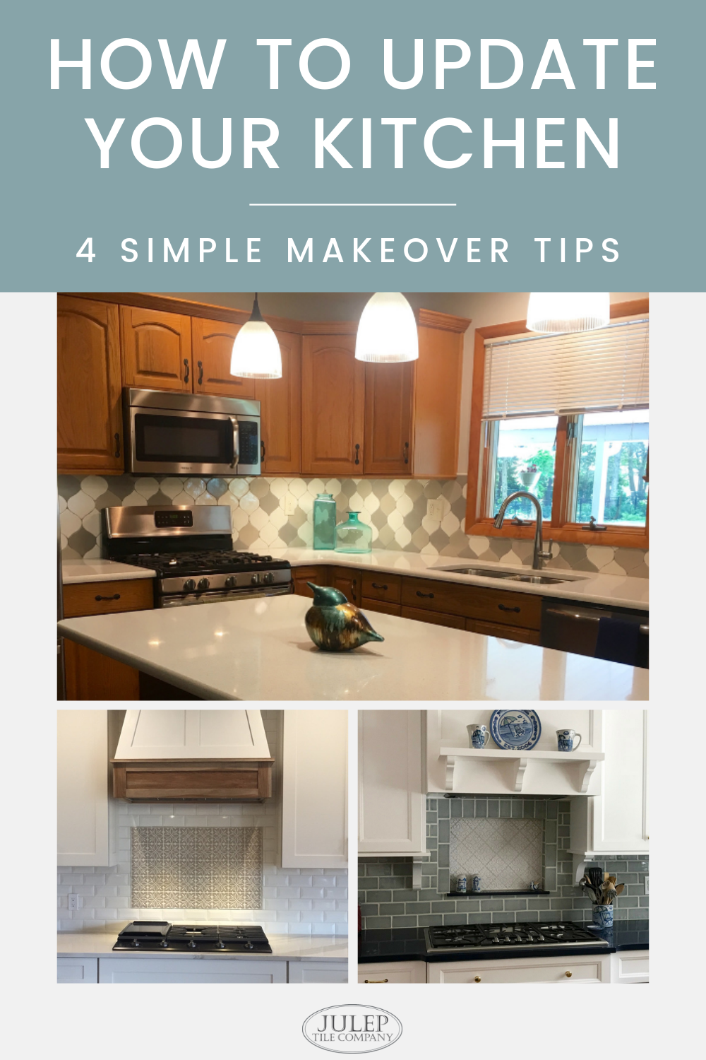 Kitchen Makeover Without Painting Your Cabinets Full Kitchen Remodel Kitchen Renovation Kitchen Inspirations