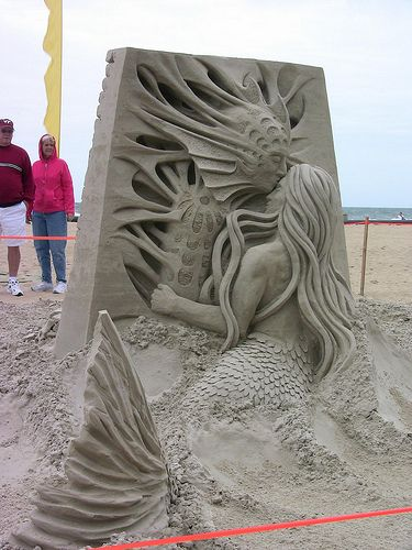 Virginia Beach End of Summer Sandcastle Competition by mccready, via Flickr