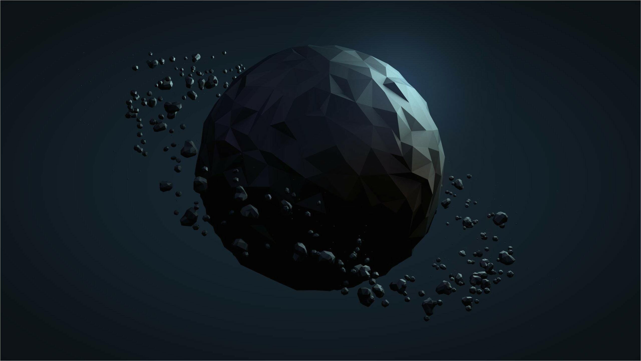 4k Polygon Wallpaper Imgur In 2020 Planets Wallpaper Polygon Art Low Poly