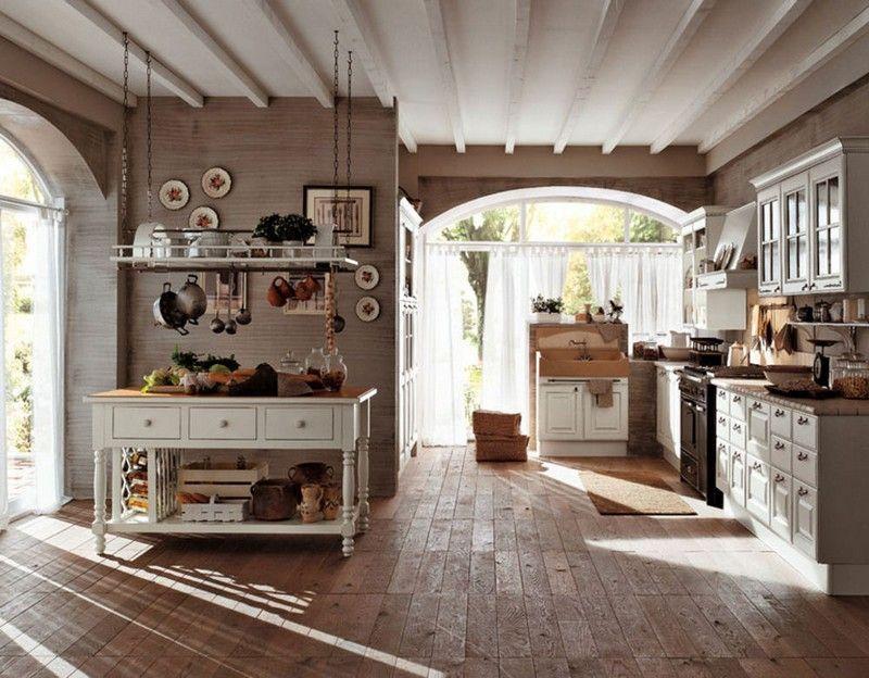 Décoration maison de campagne - un mélange de styles chic | Deco ...