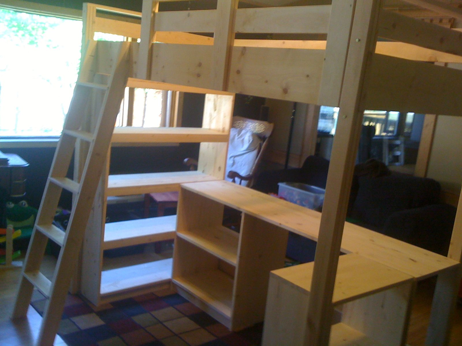 Download Original Loft bed, Diy bunk bed, Bedroom design