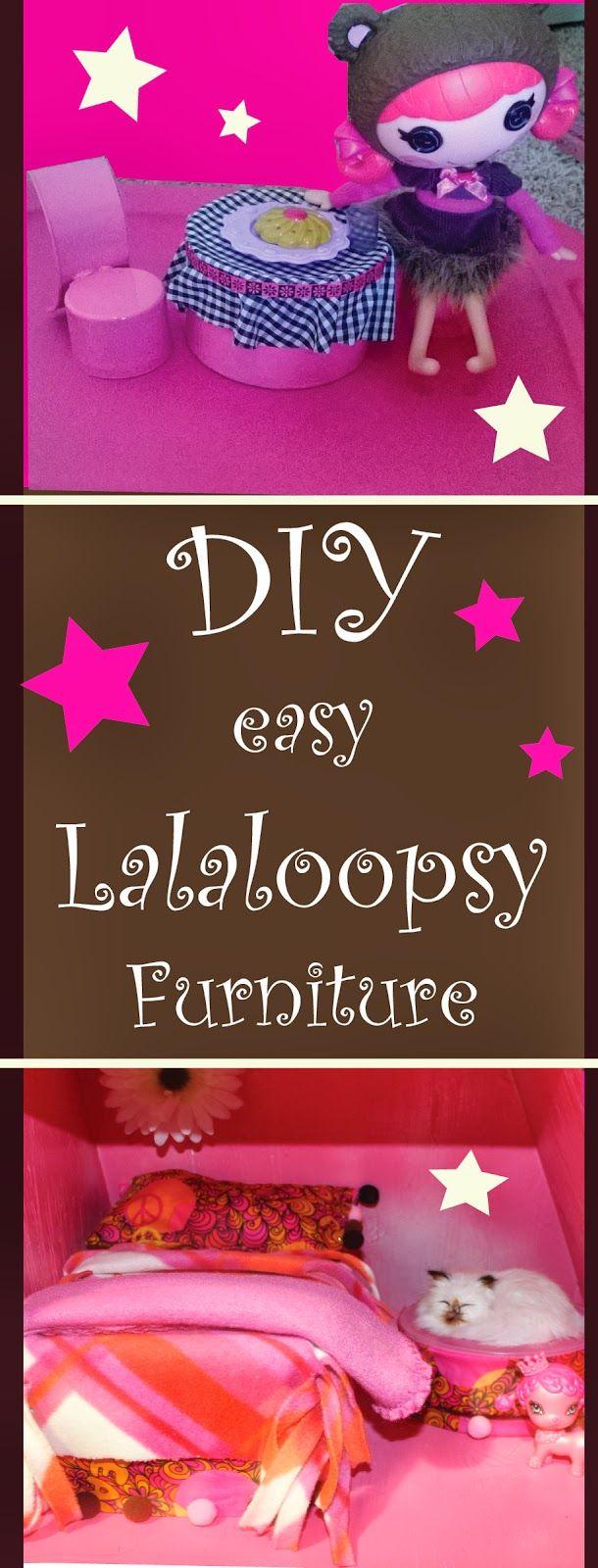 Diy, Lalaloopsy, Dollhouse Furniture