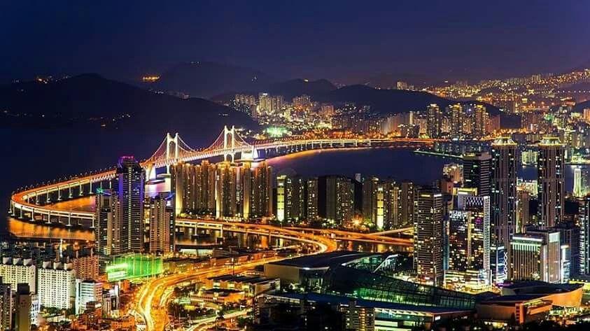 Nightscapes of Busan, Korea  부산 야경