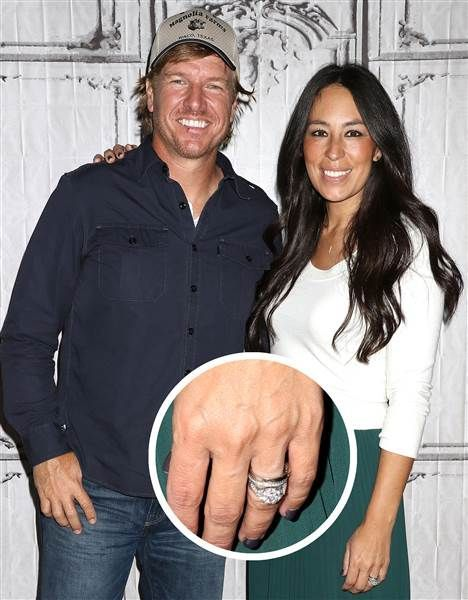 Why Joanna Gaines will never upgrade her engagement ring #chipandjoannagainescostume Fixer Upper star Joanna Gaines shares why she will never upgrade her wedding ring in the couple's new book The Magnolia Story. #chipandjoannagainescostume