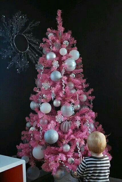 Pink Christmas Tree Pink Christmas Pink Christmas Tree Pink Xmas