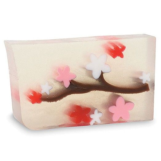 Bar Soap 5.8 oz. - CHERRY BLOSSOM    A hint of sweet cherry and bright floral blossoms.