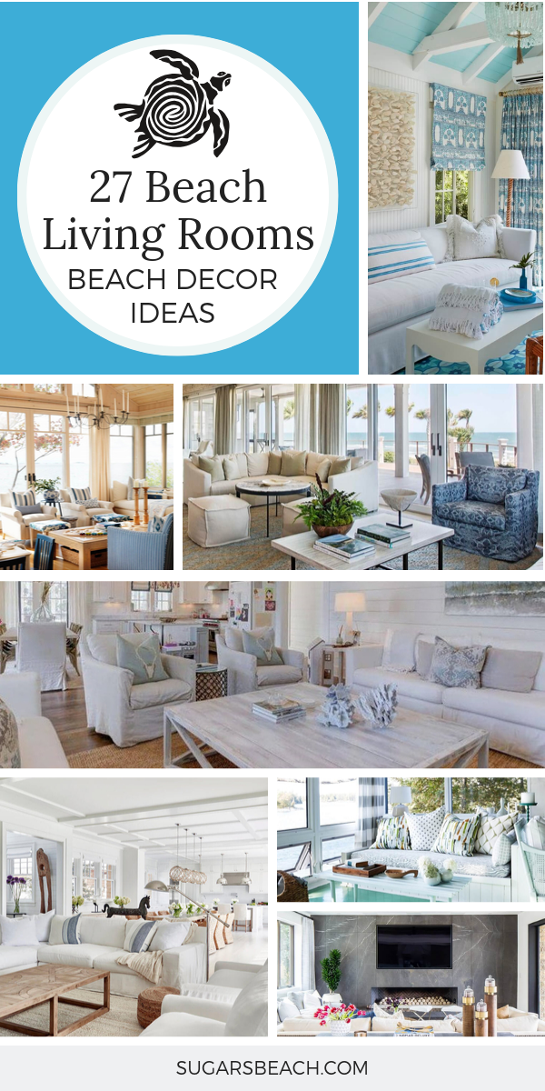 Beach Themed Living Rooms Sugars Beach 2021 Beach Decor Living Room Beach Theme Living Room Coastal Decorating Living Room