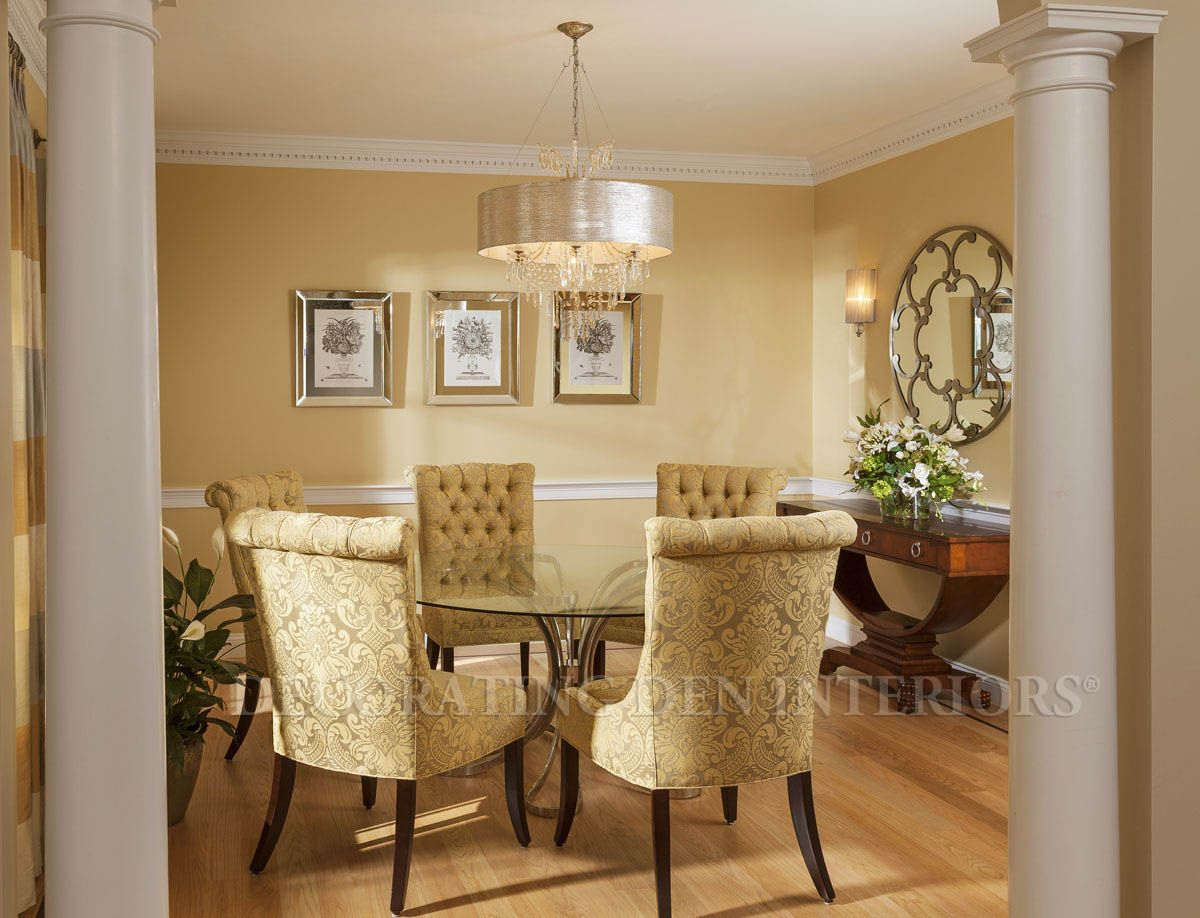 Dining Room designs by Decorating Den Interiors. www.Beckylane ...