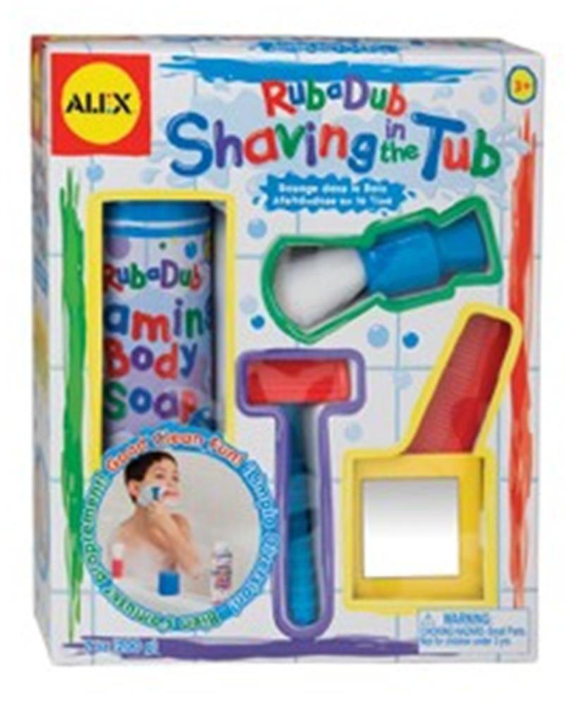 Alex Toys Rub A Dub Shaving In The Tub Pretend Shaving Kit For Boys