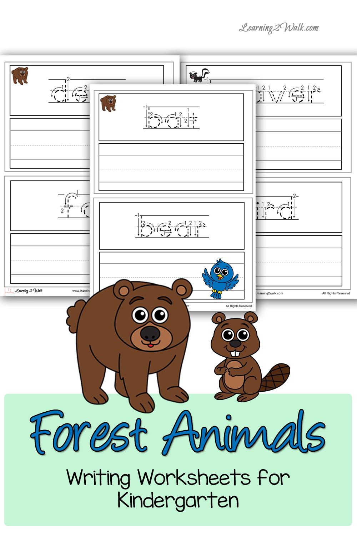 Preschool Zoo Animal Worksheets