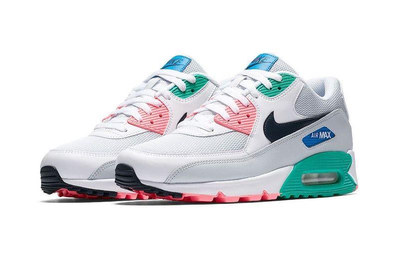 Neu Nike Air Max 90 Essential Watermelon On Feet Sneaker