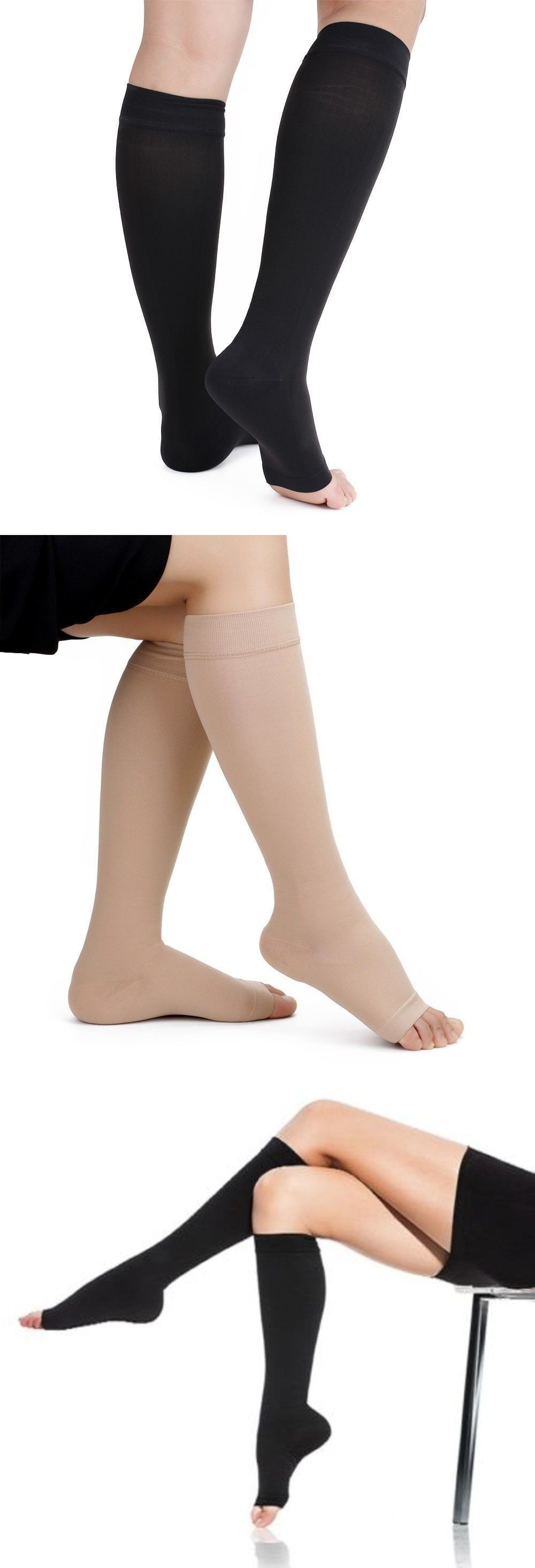 Feel It Work Form Fitting Naturally On Your Legs Thus Providing You Support Stretch Where Needed Whethe Compression Socks Support Stockings Slipper Sandals